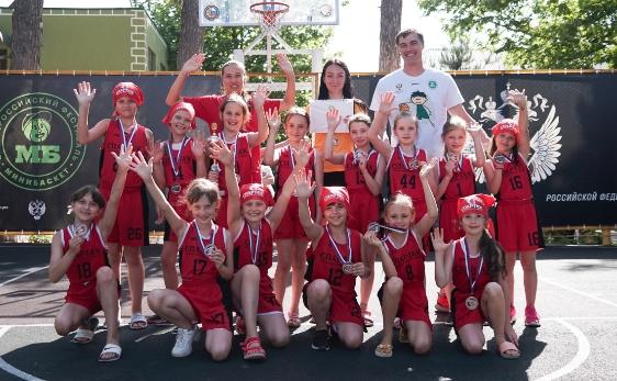 Девушки 2010 - бронзовые призеры