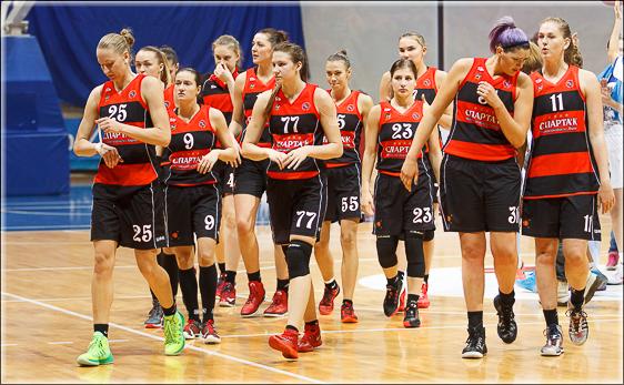 Видновские баскетболистки уступили москвичкам в Крылатском