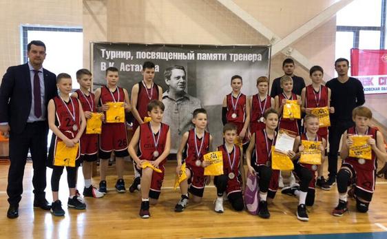 Юноши 2007: турнир в Мытищах