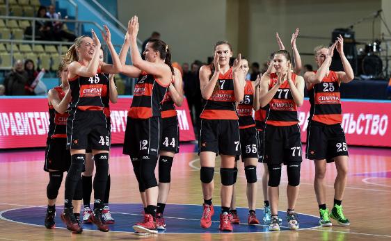 Видное - в финале женского баскетбольного Кубка России!
