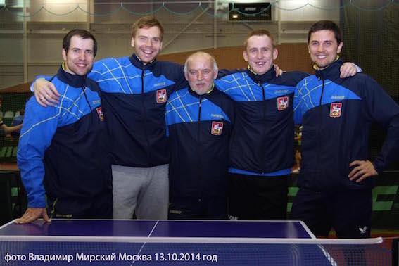 Мужская и женская команды по настольному теннису «Спарта энд К» успешно стартовали на I туре Клубного Чемпионата России