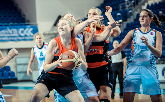 Международный баскетбольный турнир в Курске: