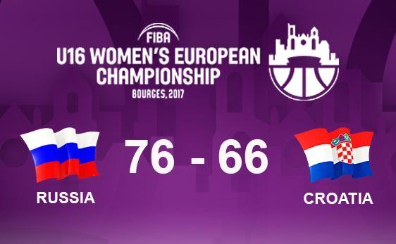 ЧЕ U16: победа над Хорватией в 1/8