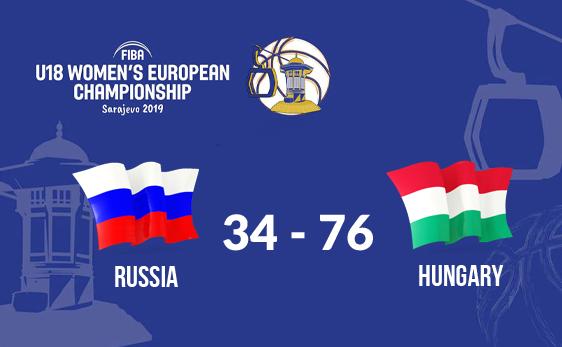 ЧЕ U18: неудача в поединке против венгерок