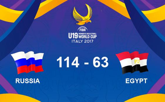 ЧМ U19: Россия разгромила Египет