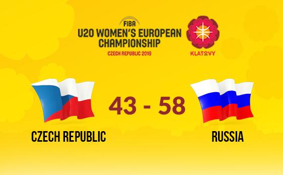 ЧЕ U20: победный старт России в матче с Чехией
