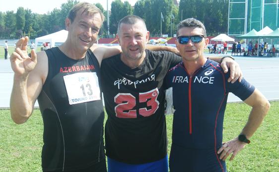 Наш массажист Дмитрий Грибков - победитель Европейских игр ветеранов в Турине!