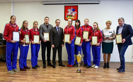 Министр спорта МО наградил призеров Спартакиады учащихся
