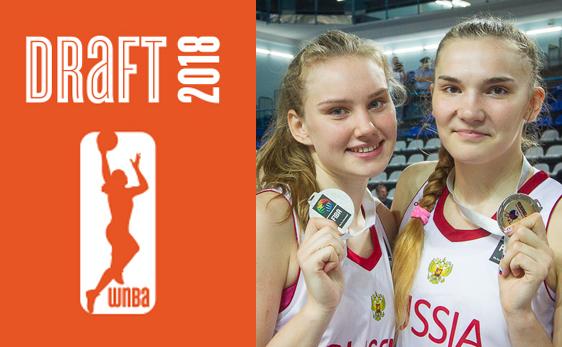 Маша Вадеева и Рая Мусина - в женской НБА!