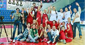 """""""Фитнес"""" на ТНТ: съемки во Дворце спорта """"Видное"""""""