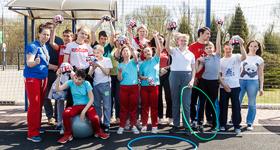 """30 апреля 2017. Благотворительная акция во Дворце спорта """"Видное"""""""